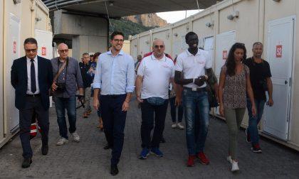 Il sottosegretario Molteni visita il Parco Roja di Ventimiglia