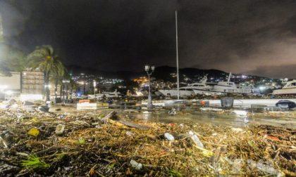 Liguria travolta dal maltempo. Disastro a Rapallo, porto distrutto e marinai in balia delle onde