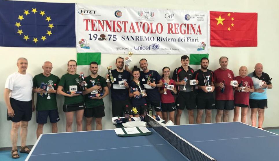 Tennis Tavolo Regina Grande Successo Per Il 43 Sanremo International Meeting Prima La Riviera