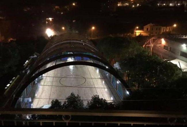 San Lorenzo al Mare, dalla Regione 147mila euro per la palestra scoperchiata dal maltempo