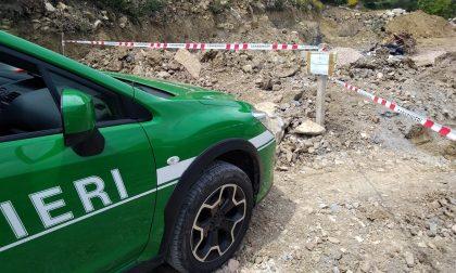 Frana cancella una strada in val Nervia, aperta inchiesta per disastro colposo
