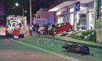Schianto in scooter sull'Aurelia a Bordighera, 2 feriti