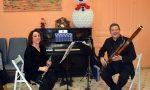 Il duo Noris e Gallo dell'Orchestra Sinfonica al Borea di Sanremo