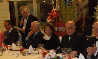 Biancheri Scajola e Berrino allo stesso tavolo per la cena degli auguri Panathlon