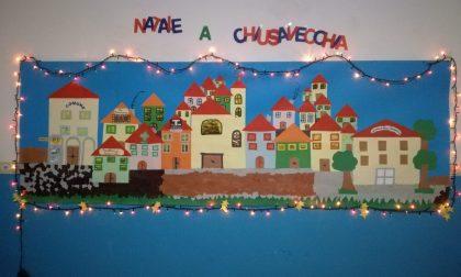 Festa di Natale all'asilo di Chiusavecchia