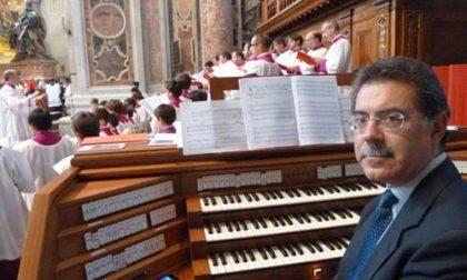 A Sanremo l'organista di Papa Francesco