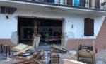 """Esplosione nel pub pizzeria """"Ai forti"""" di Nava"""