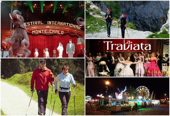 Tutti gli eventi  per un fine settimana diverso in provincia e Costa Azzurra