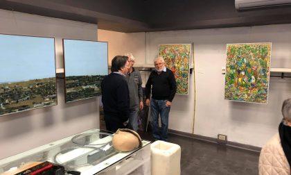 Arte in centro a Bordighera con gli artisti dell'Accademia Balbo
