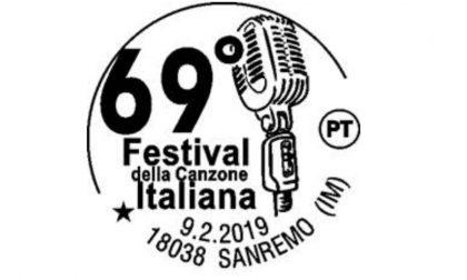 Poste Italiane annuncia annullo speciale per il Festival di Sanremo
