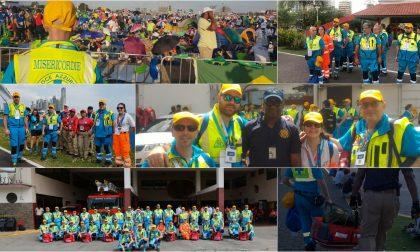 Soccorritore Giuseppe racconta la sua esperienza alla Giornata della Gioventù di Panama