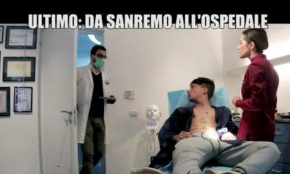 Da Sanremo all'ospedale per un virus misterioso: scherzo Le Iene all'ipocondriaco Ultimo. Il video