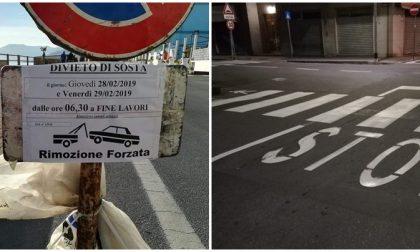 Per l'ufficio viabilità del comune di Vallecrosia il 2019 è bisestile