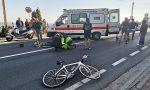 Sanremo: ciclista si schianta contro auto in uscita da parcheggio