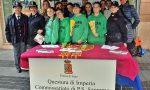 Lo stand della Polizia per la Festa della donna a Sanremo