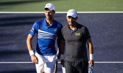 """La """"strana coppia"""" Fognini-Djokovic fermata in semifinale a Indian Wells"""