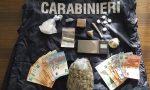 Carabinieri scovano market della droga nel cuore della Pigna – 4 arresti