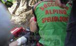 Ciclista cade in zona impervia, salvata dall'elisoccorso