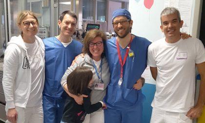 Bambina di 10 anni affetta da una grave cardiopatia salvata al Gaslini