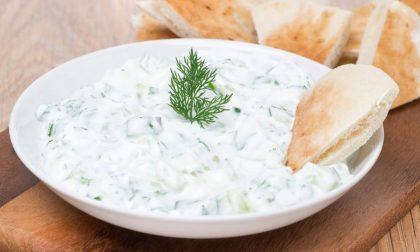 Salsa Tzatziki richiamata per allergeni non dichiarati