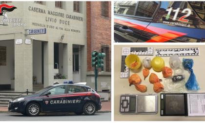 Vero e proprio supermarket della droga a Ventimiglia: nei guai un 38enne