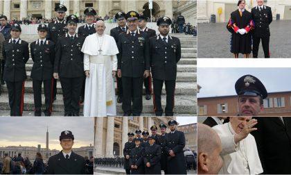 I Carabinieri di Diano Marina in visita dal Santo Padre – Gli scatti