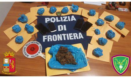 Due arresti per droga a Ventimiglia