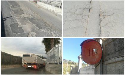 """La strada per il carcere di Valle Armea """"E' abbandonata"""", allarme del sappe"""