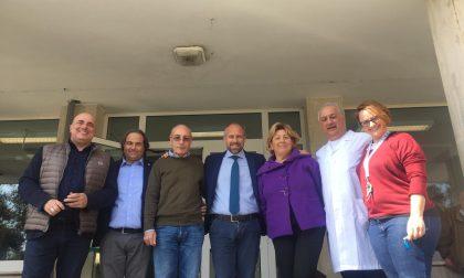 Sergio Tommasini a Casa Serena con Gianni Berrino