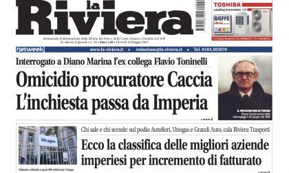 Esclusiva: omicidio Caccia, l'inchiesta passa da Imperia. Il nuovo numero de La Riviera in edicola