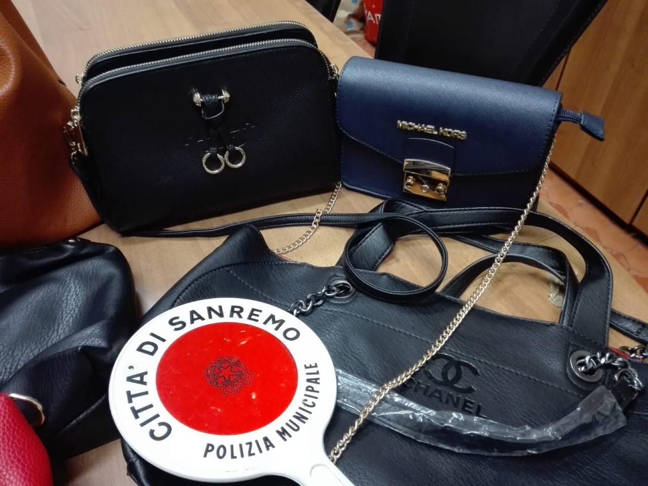 Senza permesso di soggiorno e con le borse contraffatte ...