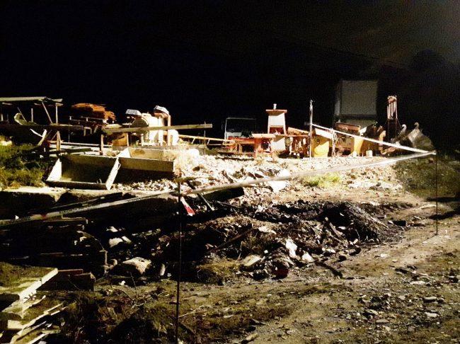 Deposito in fiamme: Municipale sequestra l&#8217&#x3B;area in Valle Armea