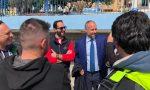 Elezioni Sanremo: pulizia dei fondali del Porto per Sergio Tommasini, Monica Albarelli e Olmo Romeo