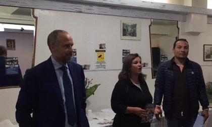 Appuntamento in via Martiri per Tommasini e i candidati Nante e Santos