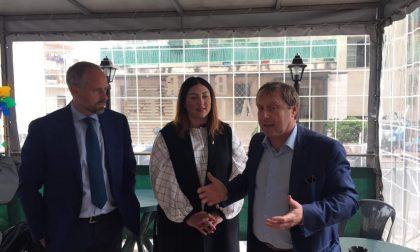Elezioni Sanremo: i candidati Artioli e Cozza con Tommasini incontrano i residenti al Borgo