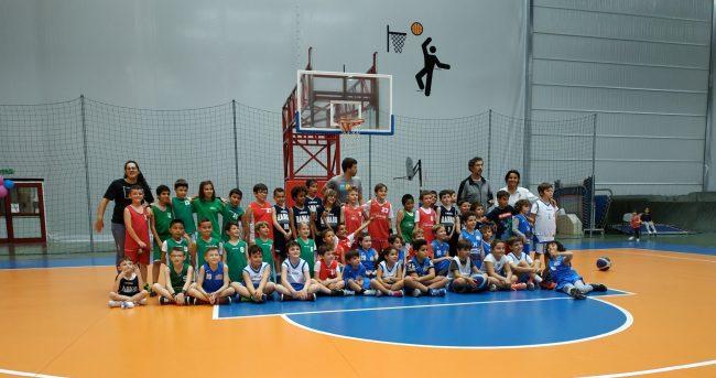 Entusiasmo alle stelle per gli scoiattoli del Sea Basket Sanremo