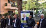I candidati Sara Astolfi e Luca Lombardi a Borgo Tinasso per un incontro tra la gente