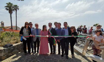 Inaugurata la Rotonda di Sant'Ampelio a Bordighera. Foto e Video