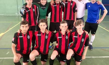 Football sala, secondo posto al torneo biellese