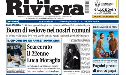 Tutte le esclusive in edicola oggi sul settimanale La Riviera