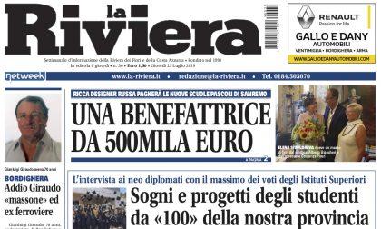 """Un nuovo numero de La Riviera è in edicola: le interviste ai ragazzi da """"100"""" alla maturità"""