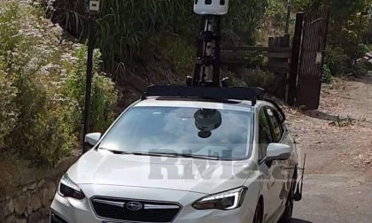 A Bordighera compare l'auto di Apple Maps
