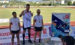 L'atleta sanremese Pertile campione italiano master di salto in lungo