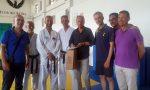 Defibrillatore in dono alla palestra di Karate a Bordighera