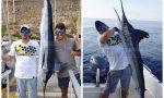 Pescato un marlin bianco da 70 kg il più grande in provincia