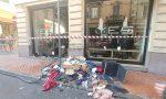 Brucia quadro elettrico, danneggiato negozio di abbigliamento. Video