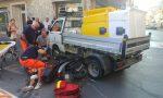 Schianto a Bordighera: ragazza finisce sotto furgoncino del Comune