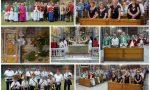 Per la prima volta in processione dopo 90 anni la reliquia della Croce del Cristo. Foto