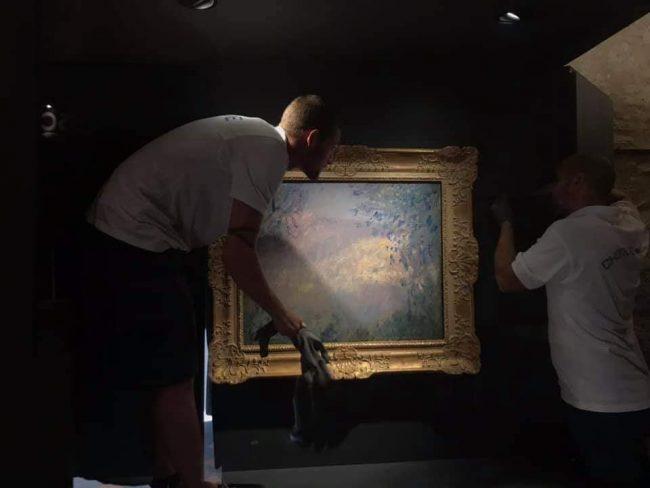 Dolceacqua: i quadri Monet tornano a casa scortati dai carabinieri