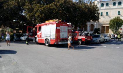 Fuga di gas a Bordighera, intervengono i vigili del fuoco